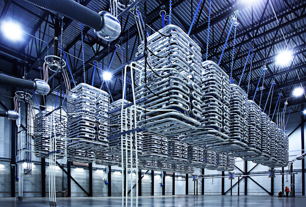 ABB's HVDC Light Converter Hall (www.offshorewind.biz)