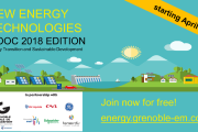 New Energy Technologies MOOC 2018