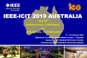 INCITE will be at IEEE ICIT 2019
